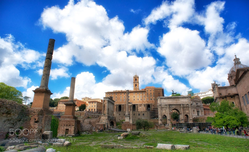 Photograph Foro Romano  by Paolo Costantino on 500px