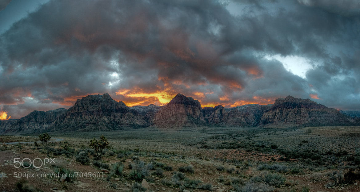 Photograph Fire in the Clouds  by Brad Denny on 500px
