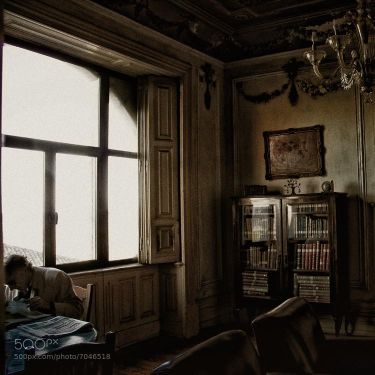 Photograph dis quiet reading room by Michal Krenz on 500px