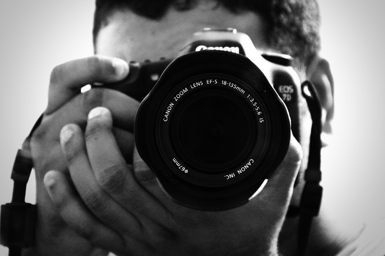 Photograph My first self potrait by Sid Ilan on 500px