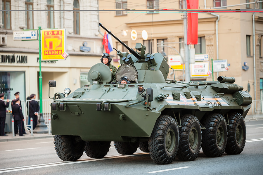 Photograph BTR-82 by Dmitriy Fomin on 500px