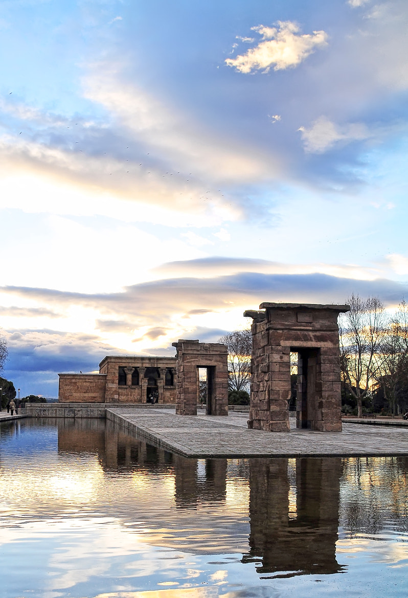 Photograph Templo de Debod   Madrid by Miguel A. Andrés   Freelance  on 500px