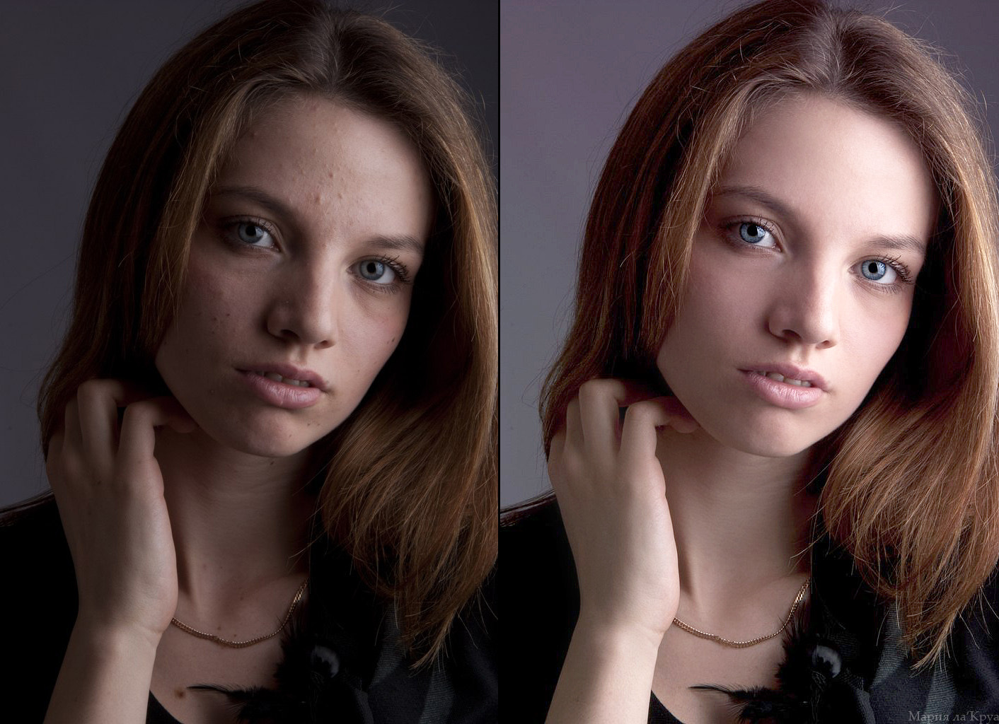 Photograph before/after by Maria Lacroix on 500px