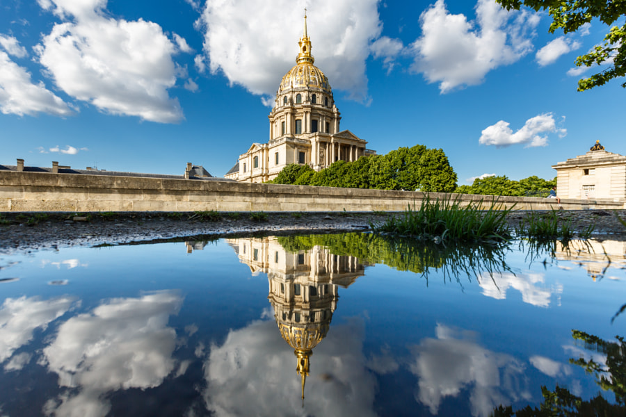 Mirror on Invalides