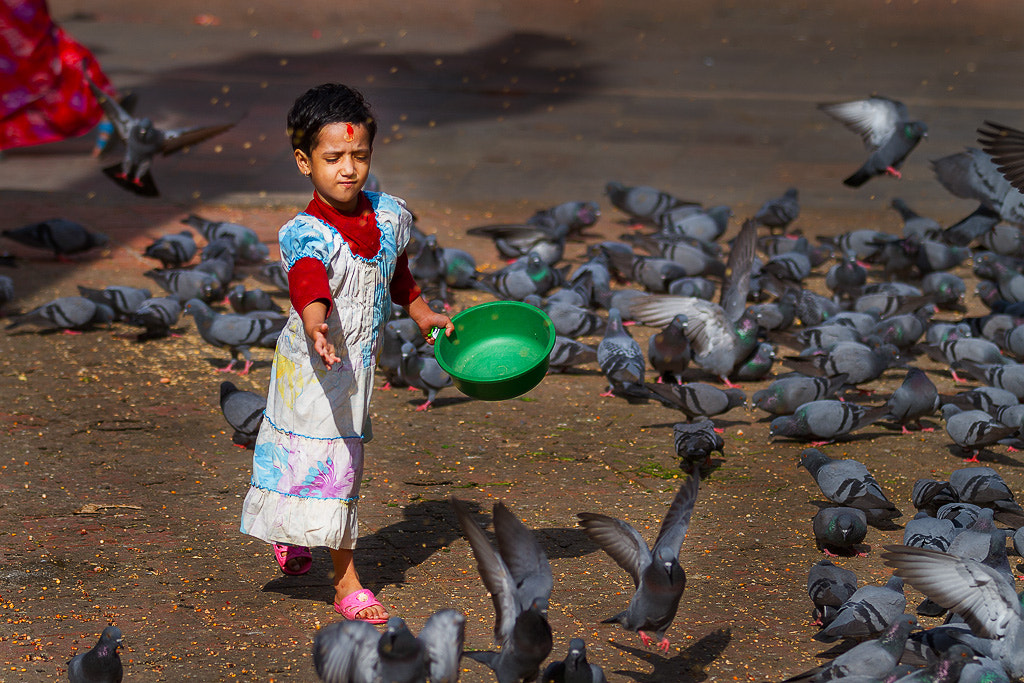 Photograph Pigeon Girl by everlook  portraiture on 500px