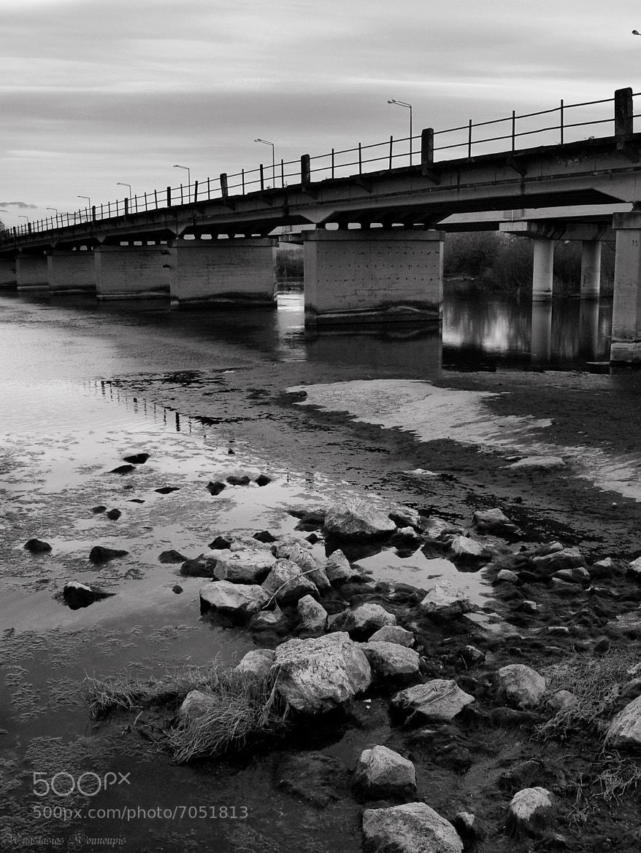 """Photograph """"River bridge"""" by Kounoupis Anastasios  on 500px"""