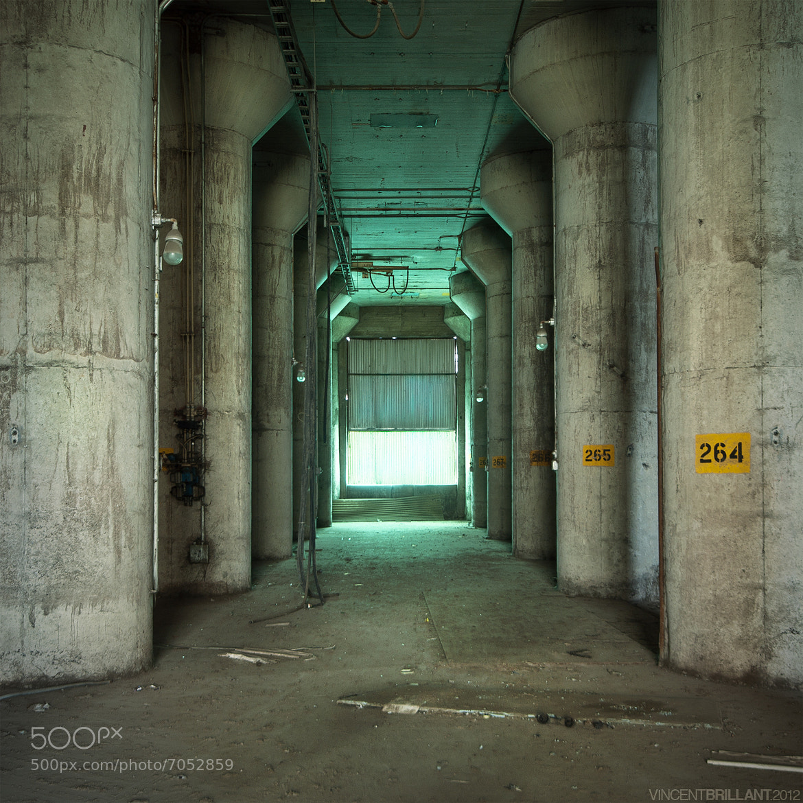 Photograph Pillars by Vincent  Brillant on 500px