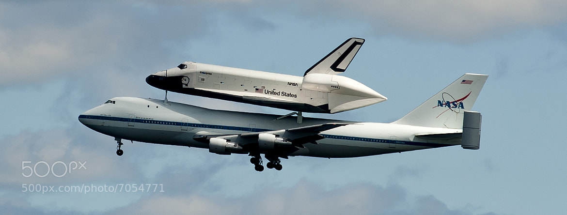 Photograph SHUTTLE ENTERPRISE by roni chastain on 500px