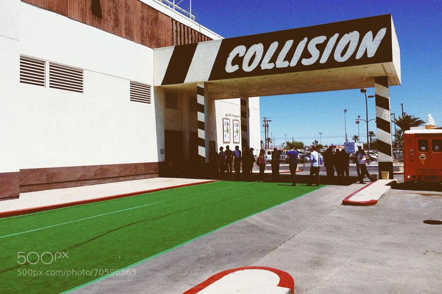 Collision area