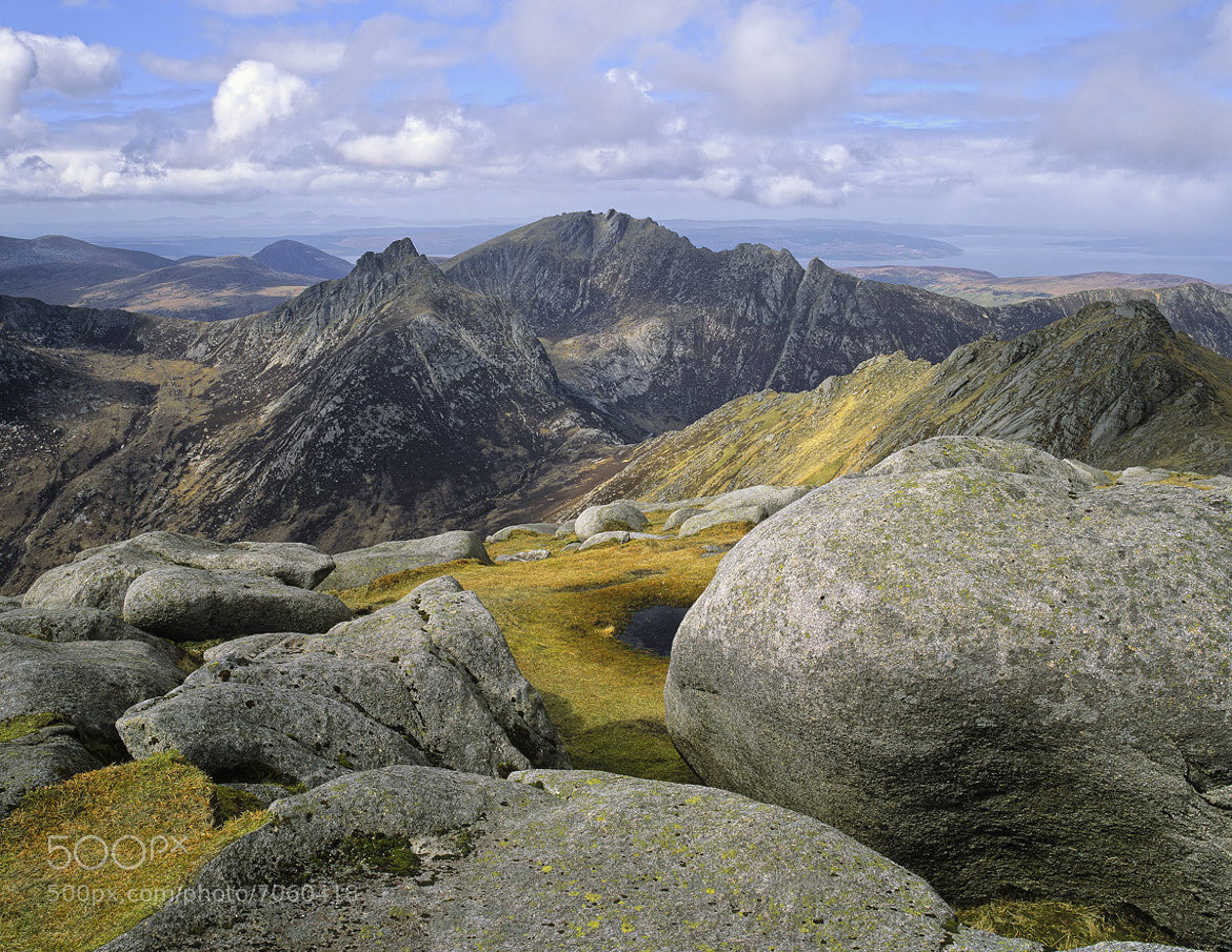 Photograph Summit Goat Fell by Ian Cameron on 500px