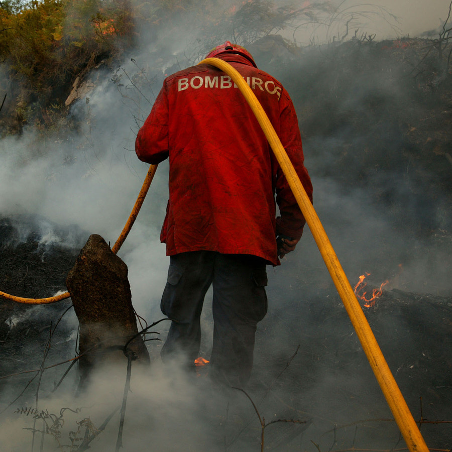 A fireman's burden