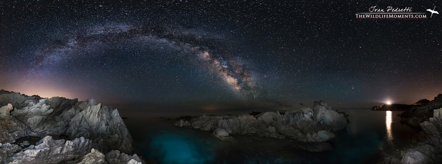 Photograph Milky way night by Ivan Pedretti  on 500px