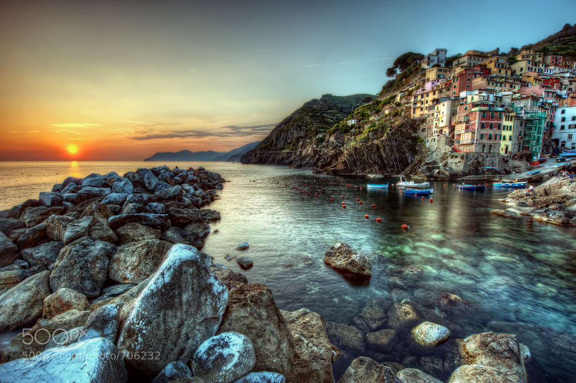 Photograph Cinque Terre Sunset by Matty Wolin on 500px