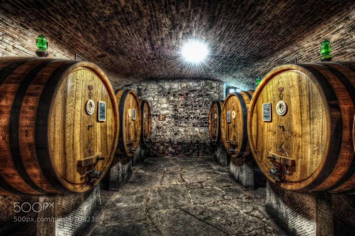 Photograph Cellars at Verrazzano by Matty Wolin on 500px