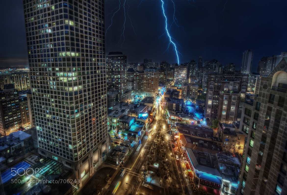 Photograph Lightning Strikes the Triangle by Matty Wolin on 500px
