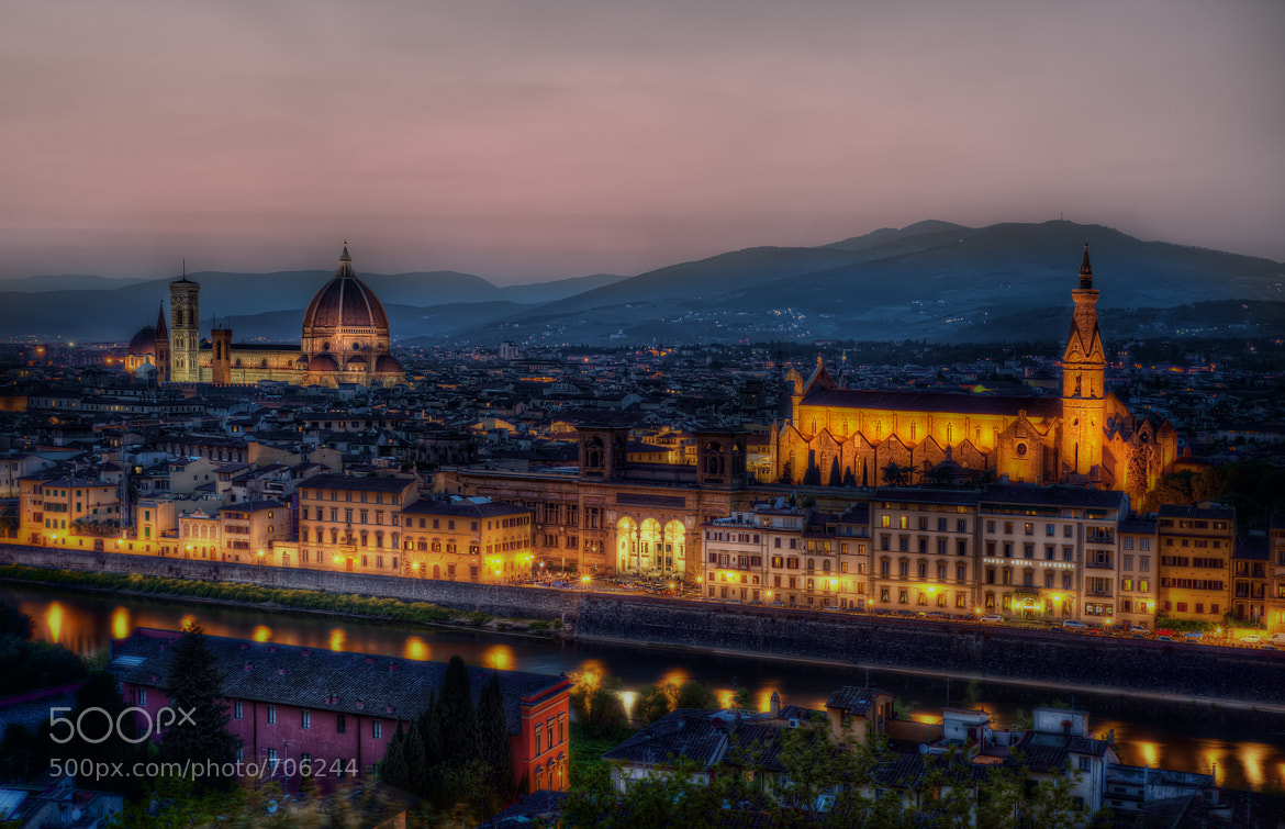 Photograph Dusk in Firenze by Matty Wolin on 500px