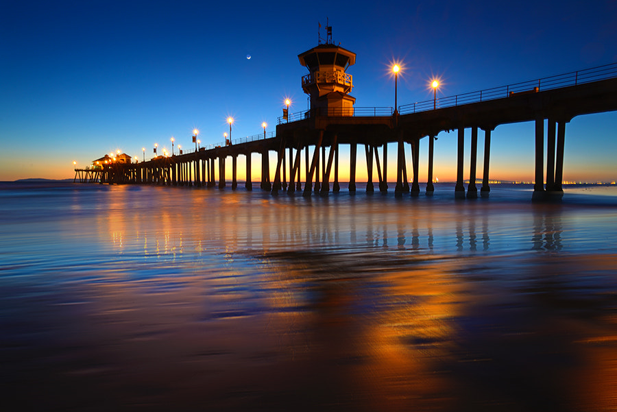 Photograph evening at the pier by Lester Garcia on 500px
