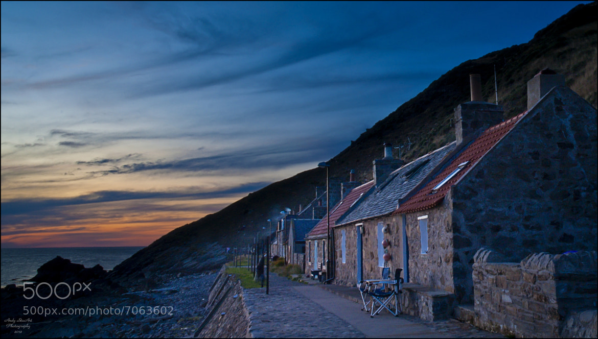 Photograph Crovie Sunset by Andy Stuart on 500px