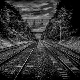 St johns train tracks today,portland ,Oregon