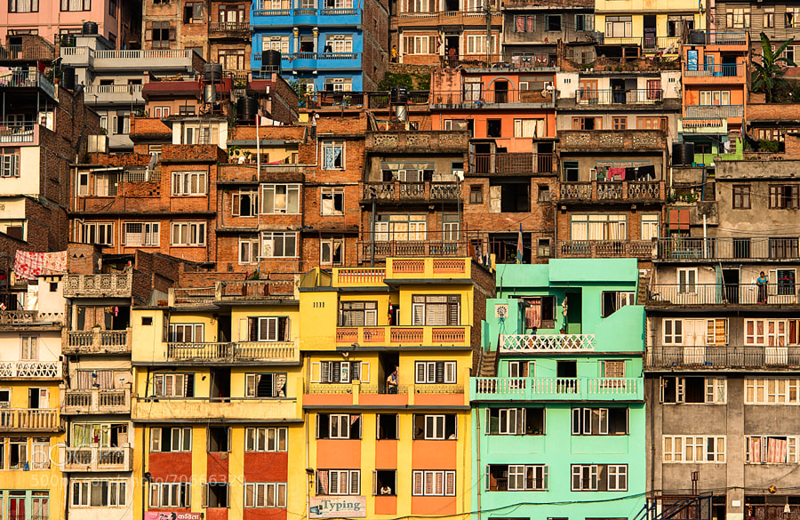 Photograph Colors of Kirtipur by Daniel Cheong on 500px