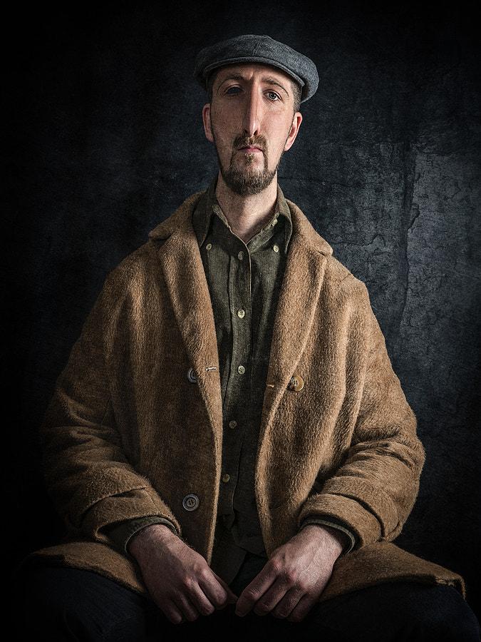 Portrait of Man with Coat