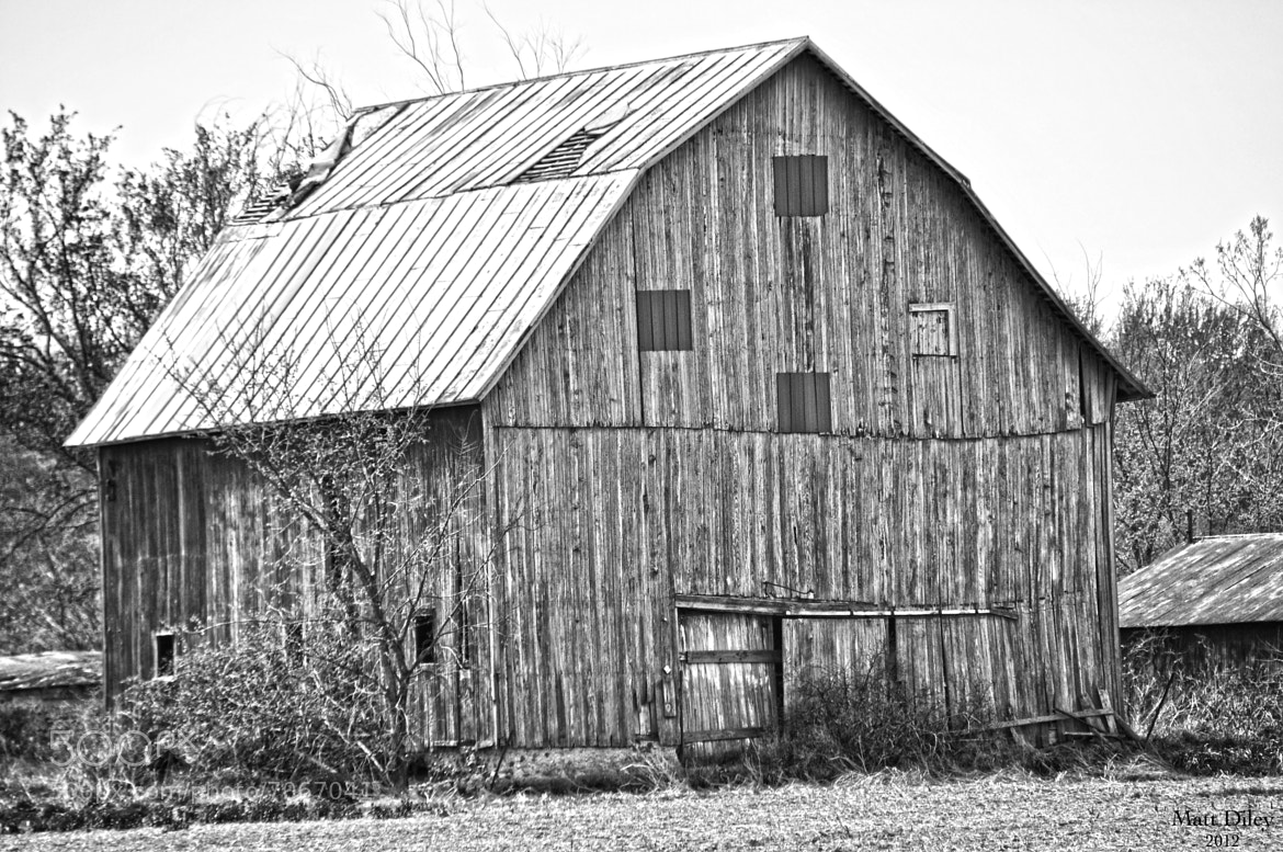 Photograph Ohio Barn by Matt Diley on 500px