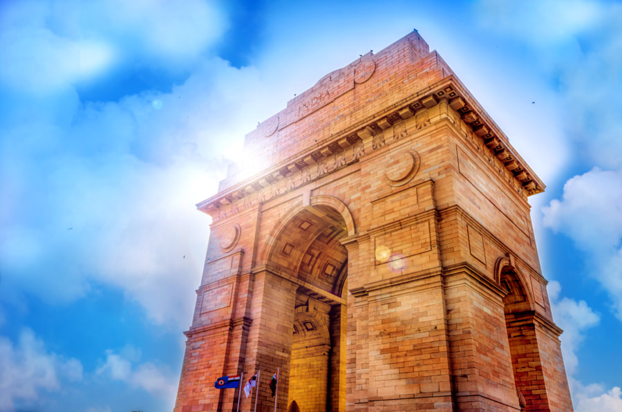 india gate by Harsh  Vardhan Art on 500px.com