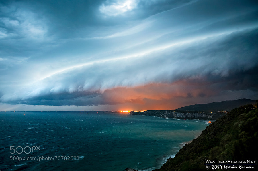 Photograph An approaching storm by Marko Korošec on 500px
