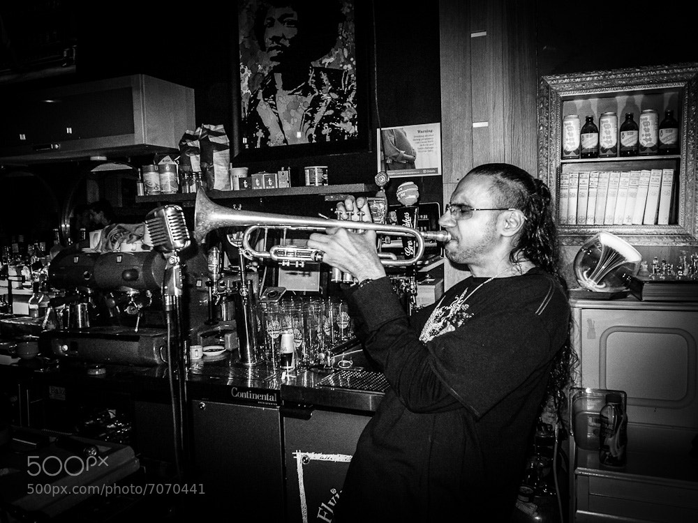 Photograph Music at Jazz Poetry Cafe by Fred Ferrer on 500px