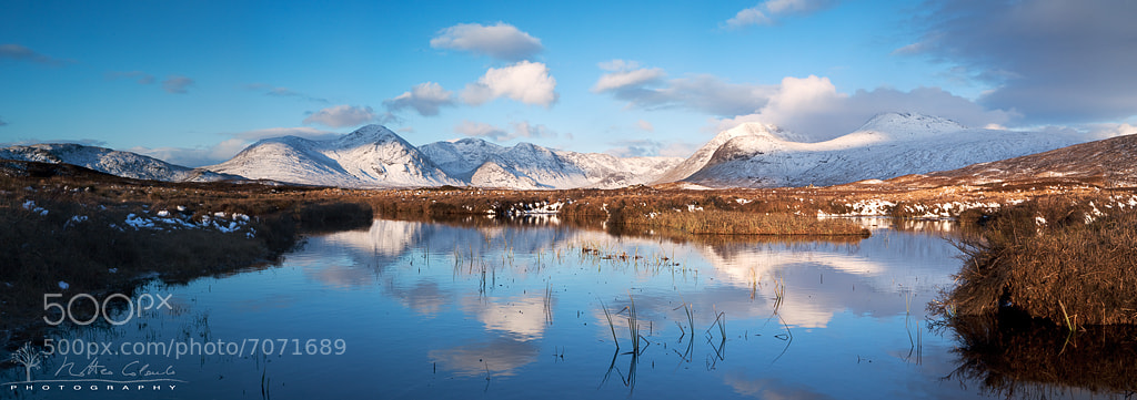 Photograph Rannoch moor sunrise by Matteo Colombo on 500px