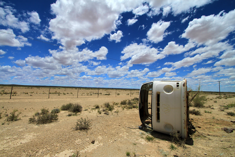 Photograph Car in the desert - Namibia by Benjamin Nocke on 500px