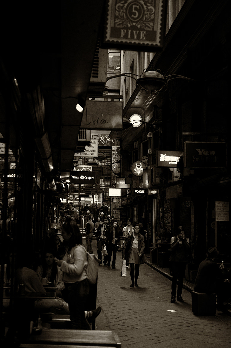 Photograph Melbourne City, Street Scene by Mark  on 500px