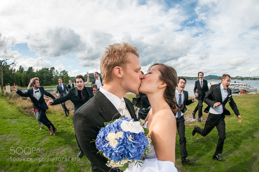 Photograph The wedding kiss by Mikael  Bang Andersen on 500px