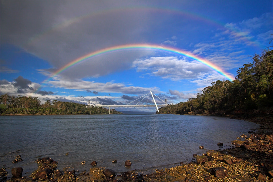 Photograph Batman Rainbows by Peter Daalder on 500px
