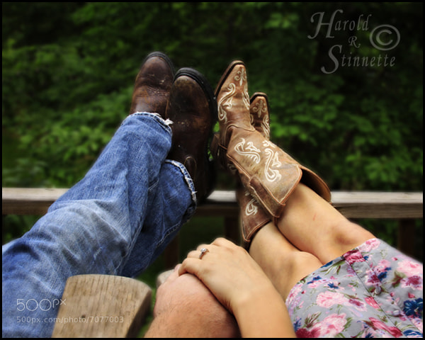 Photograph His & Hers Boots by Harold Stinnette on 500px