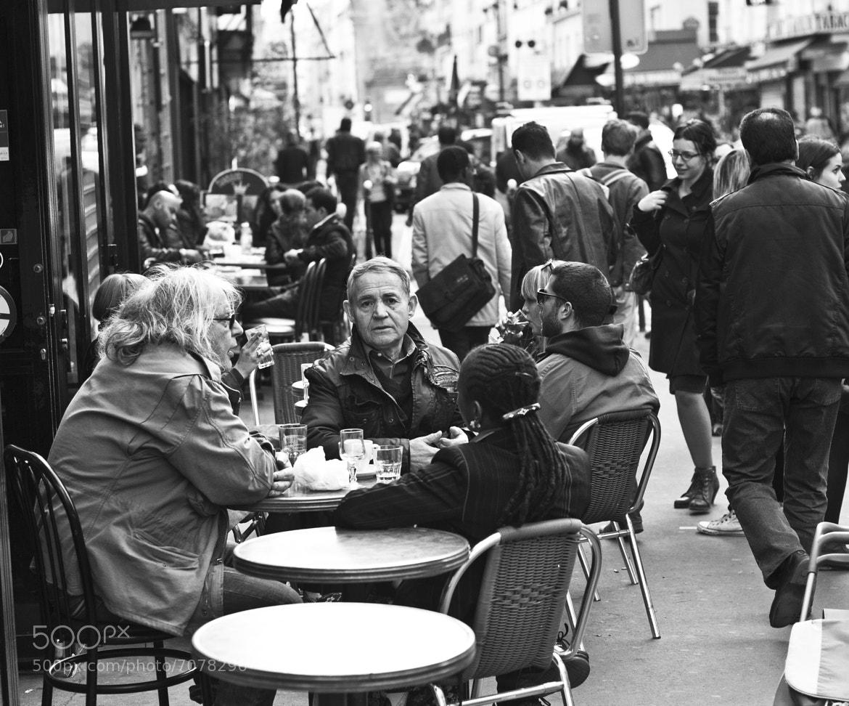 Photograph Café terrace by Timothée Taupin on 500px