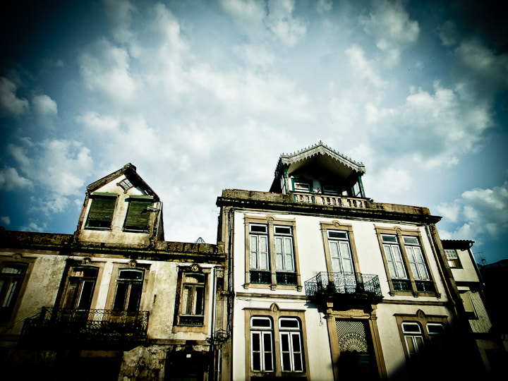 Photograph Old haunted houses by Francisco Salgueiro on 500px