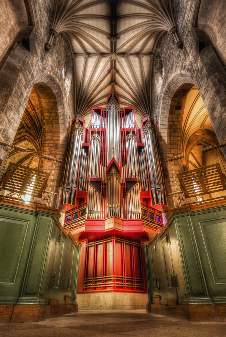 Photograph The Organ by James Rossiter on 500px