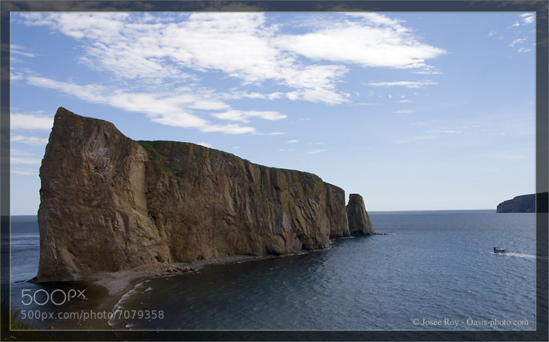 Photograph Roché Percé,  Gaspésie, QC by Josee Roy on 500px