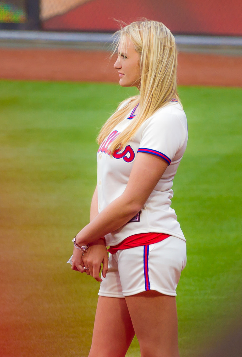 Photograph Phillies Ball Girl 2 by Darren LoPrinzi on 500px