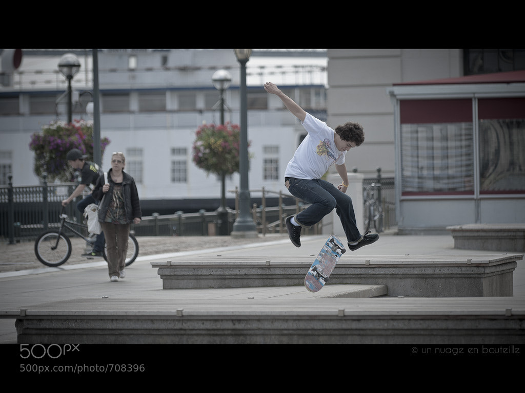 Photograph Ollie flip by Vincent Montibus on 500px