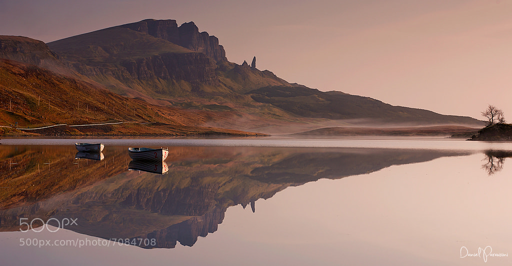 Photograph First hours at Loch Fada by Daniel PARAVISINI on 500px