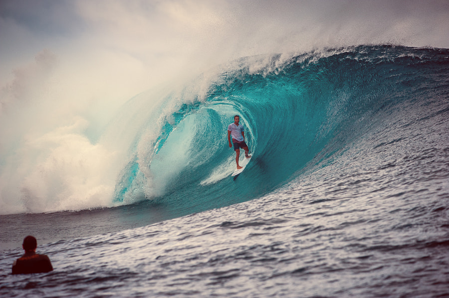 Teahupoo by julien boissieres on 500px.com