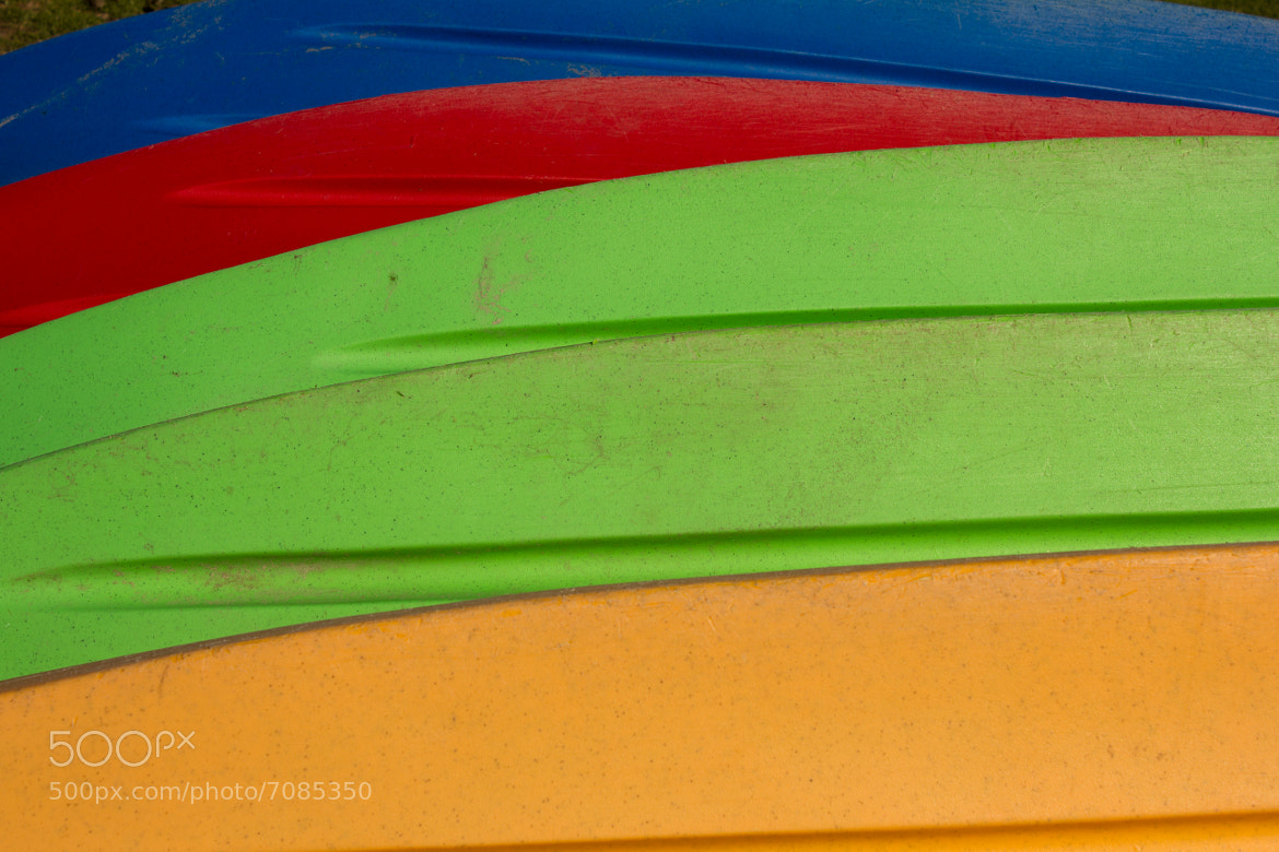 Photograph Kayaks at Shoreline by Martin Devenney on 500px