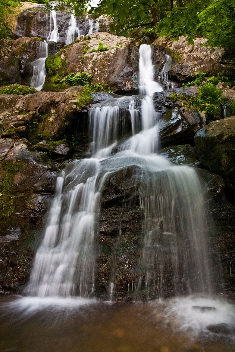Photograph Dark Hallow Falls 1  by Brad Denny on 500px