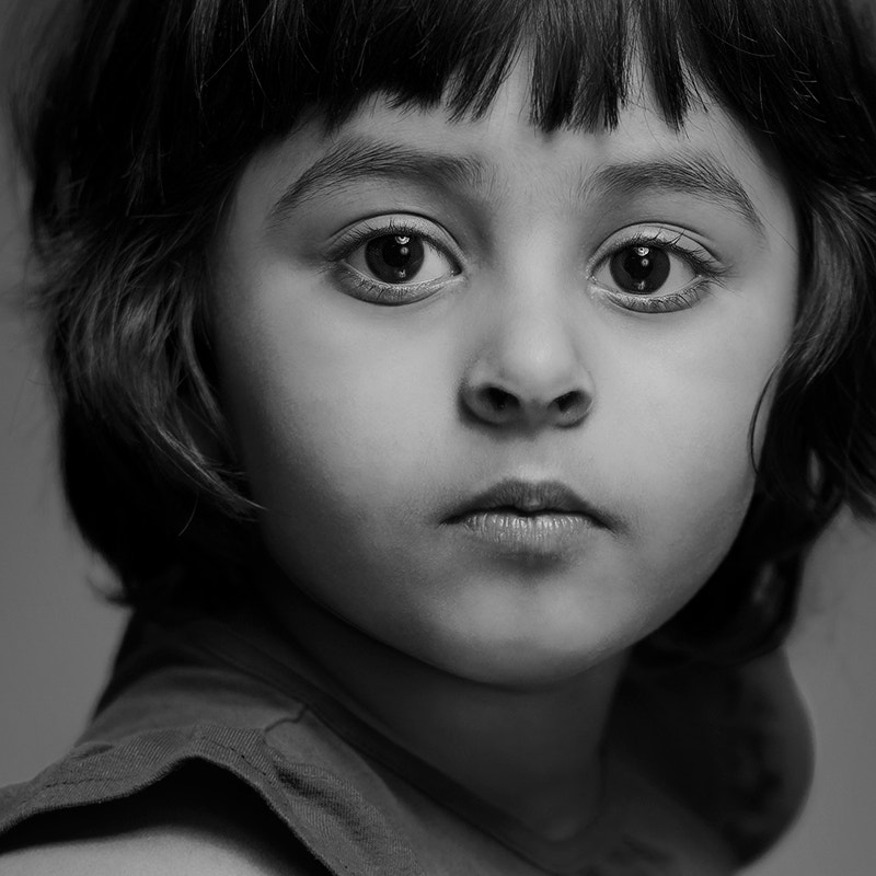 Photograph Her face by Ahmed Al-Ibrahim on 500px