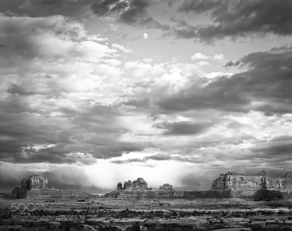 Photograph Moon Over Canyonlands by Rene Pirolt on 500px