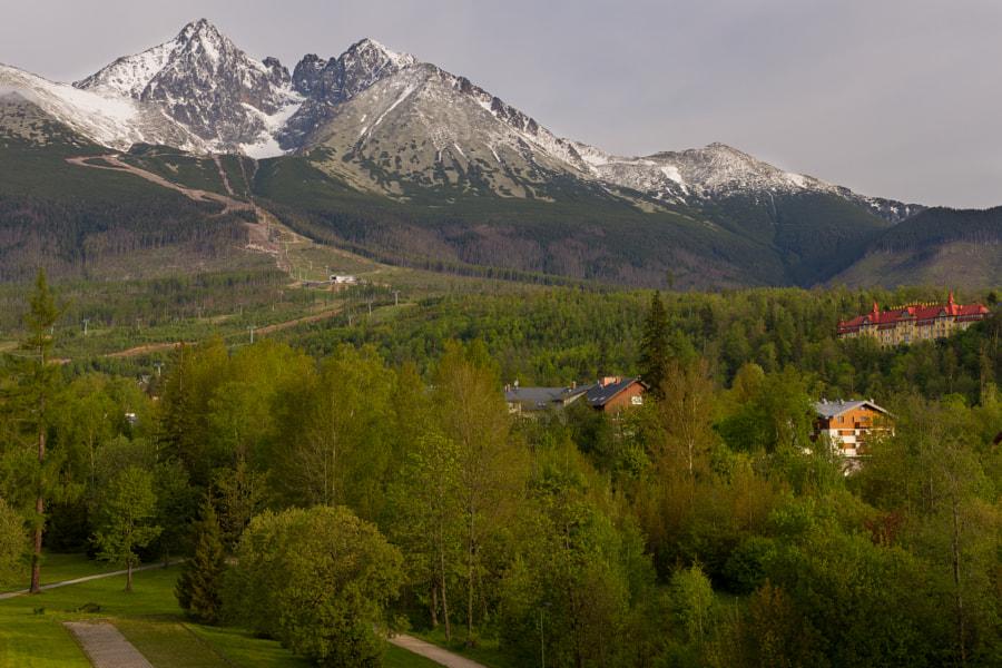 Tatranská Lomnica by Martin Grančič on 500px.com