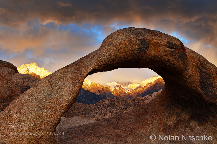 Photograph Mobius Storm Light by Nolan Nitschke on 500px