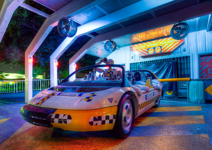 Photograph Coca-Cola Car, Test Track, EPCOT, Florida. by Stanton Champion on 500px
